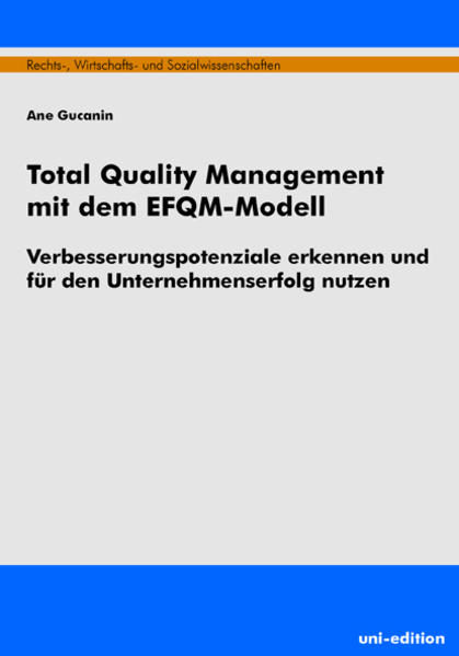 Total Quality Management mit dem EFQM-Modell - Coverbild