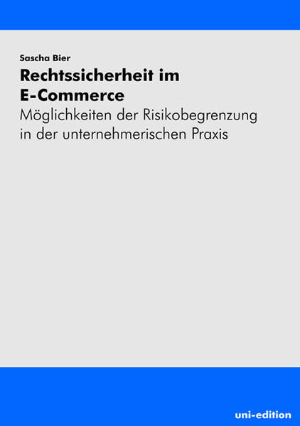 Rechtssicherheit im E-Commerce - Coverbild