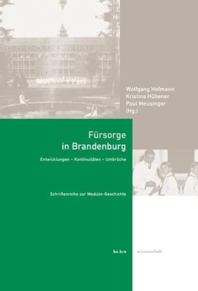 Fürsorge in Brandenburg - Coverbild