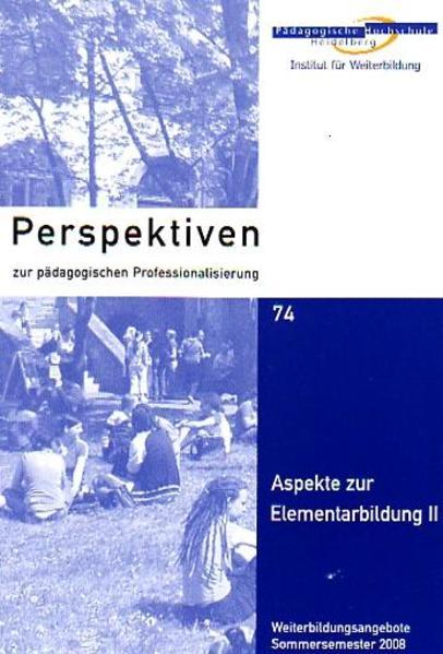 Aspekte zur Elementarbildung II - Coverbild