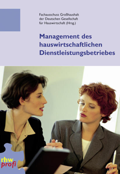 Management des hauswirtschaftlichen Dienstleistungsbetriebs - Coverbild