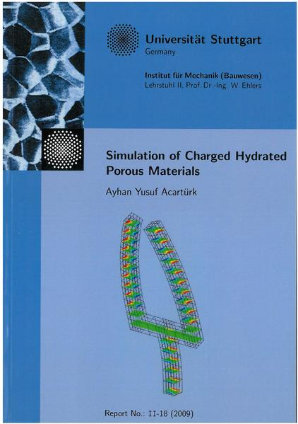 Simulation of Charged Hydrated Porous Materials - Coverbild