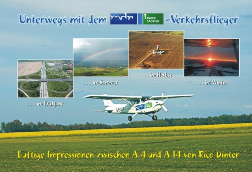 Unterwegs mit dem mdr-Radio Sachsen 1-Verkehrsflieger - Coverbild