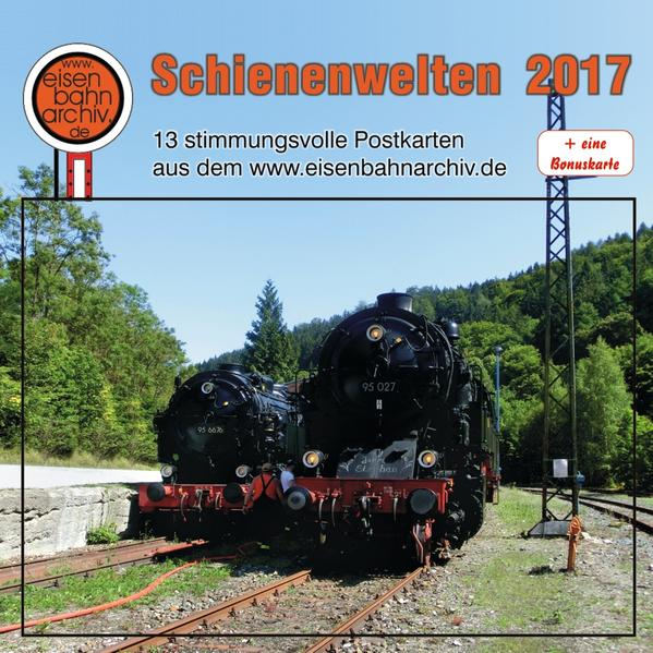 Schienenwelten 2017 - Coverbild