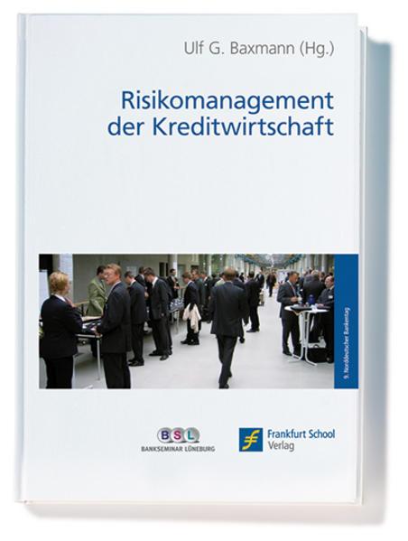 Risikomanagement der Kreditwirtschaft - Coverbild