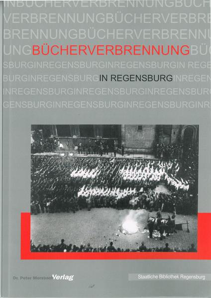 Bücherverbrennung in Regensburg - Coverbild