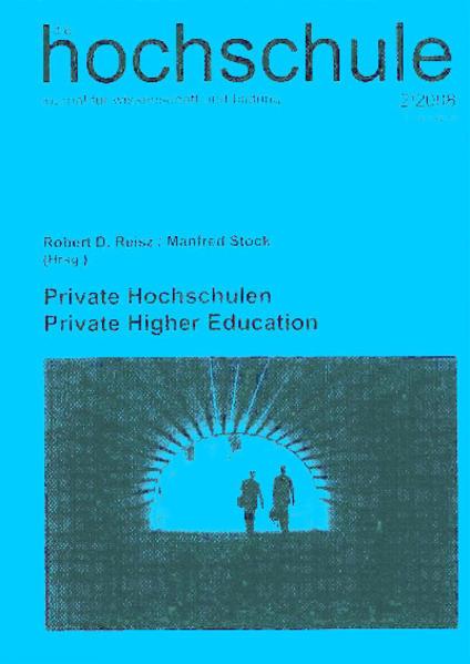 Private Hochschulen /Private Higher Education - Coverbild