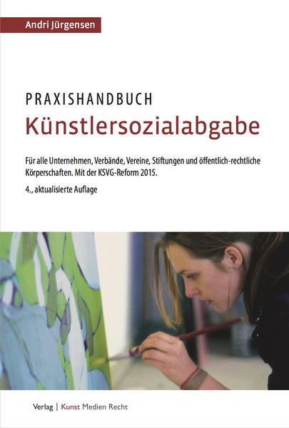 Praxishandbuch Künstlersozialabgabe - Coverbild
