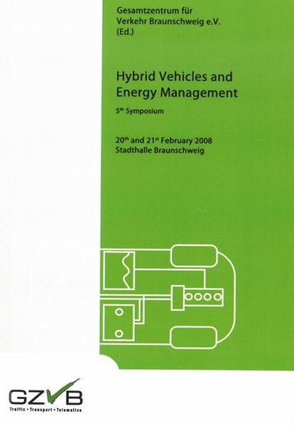 Hybrid Vehicles and Energy Management. 5th Symposium - Coverbild