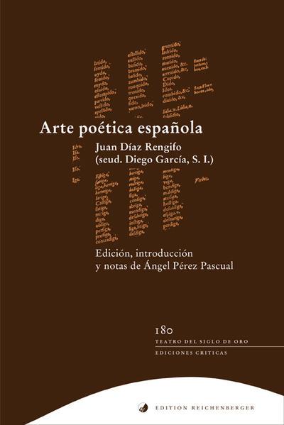 Arte poética española - Coverbild