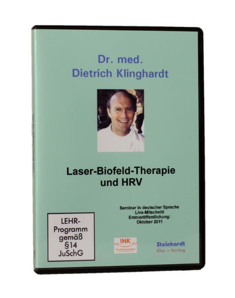 Laser-Biofeld-Therapie und HRV - Coverbild