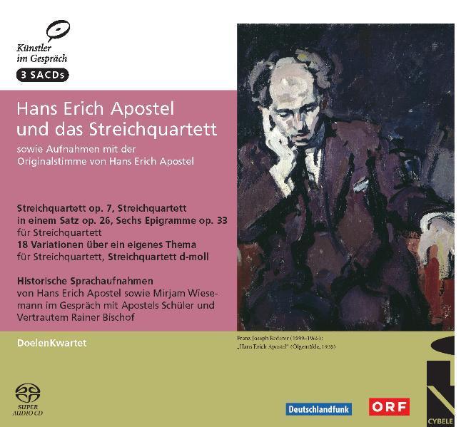 Hans Erich Apostel und das Streichquartett - Coverbild