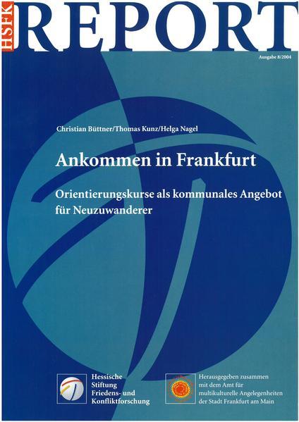 Ankommen in Frankfurt - Coverbild