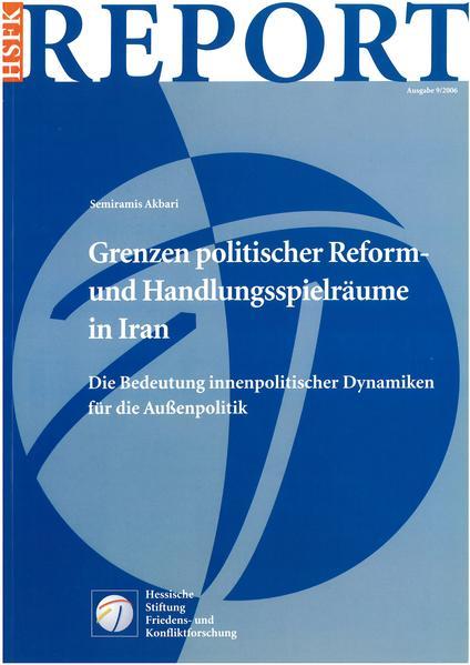 Grenzen politischer Reform- und Handlungsspielräume in Iran - Coverbild