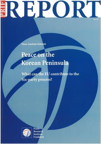 Peace on the Korean Peninsula - Coverbild