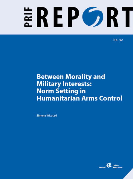 Between Morality and Military Interests - Coverbild