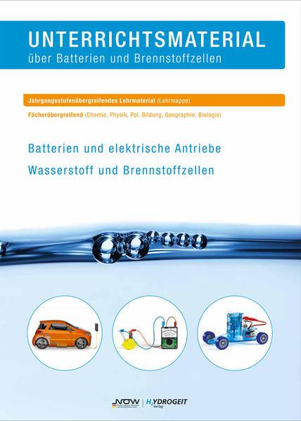Unterrichtsmaterial über Batterien und Brennstoffzellen - Coverbild
