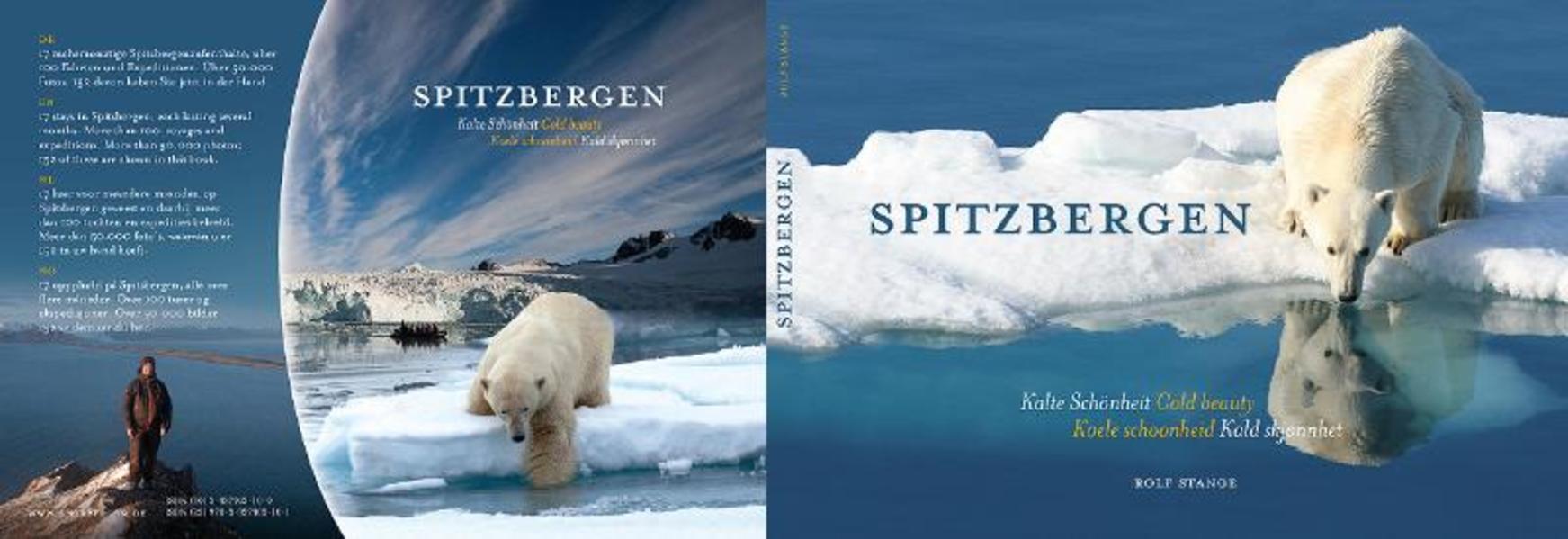 Spitzbergen - Kalte Schönheit. - Coverbild