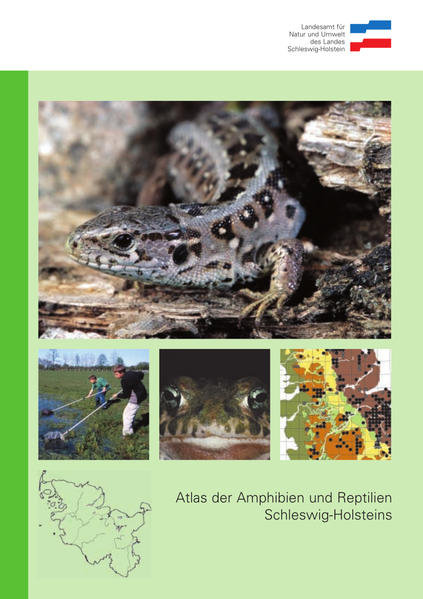 Atlas der Amphibien und Reptilien Schleswig-Holsteins - Coverbild
