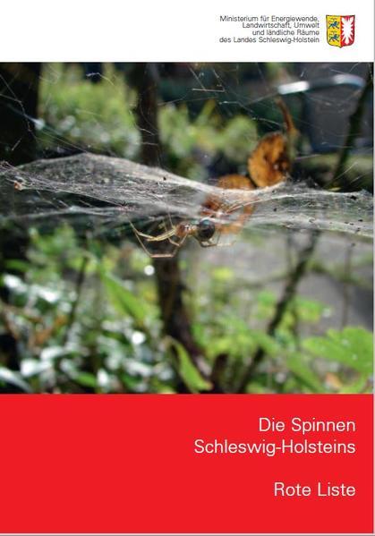 Die Spinnen Schleswig-Holsteins - Rote Liste - Coverbild