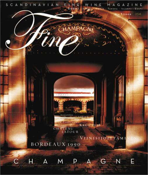 FINE Das Weinmagazin 03/2008 - Coverbild