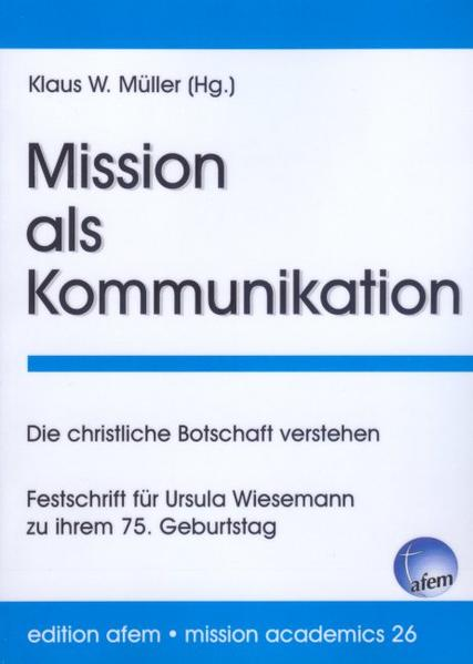 Mission als Kommunikation - Coverbild