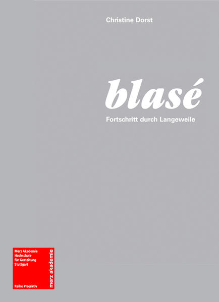 blasé - Coverbild