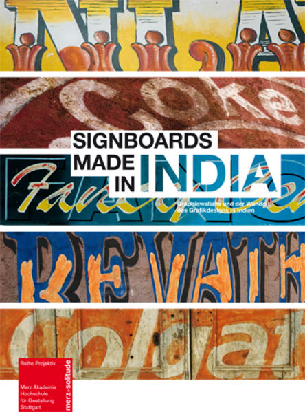 Signboards made in India - Coverbild