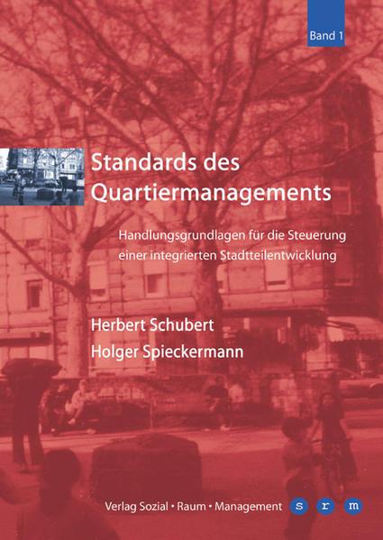 Standards des Quartiermanagements - Coverbild