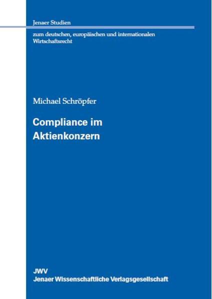 Compliance im Aktienkonzern - Coverbild