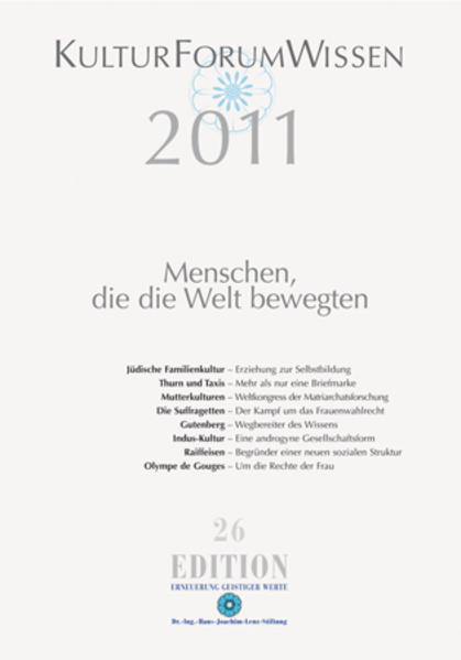 KulturForumWissen 2011 - Coverbild