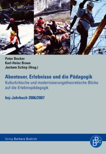 Abenteuer, Erlebnisse und die Pädagogik - Coverbild