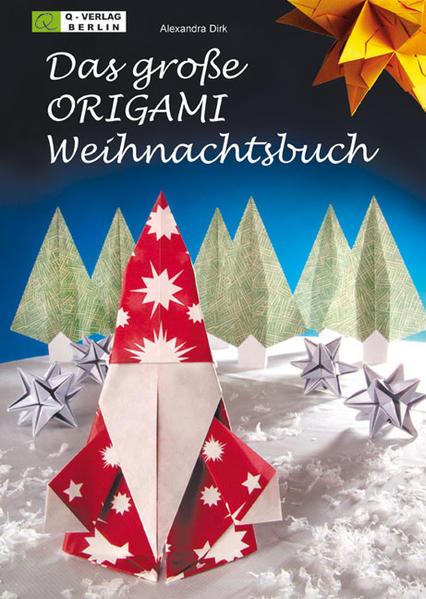 Das grosse ORIGAMI Weihnachtsbuch - Coverbild