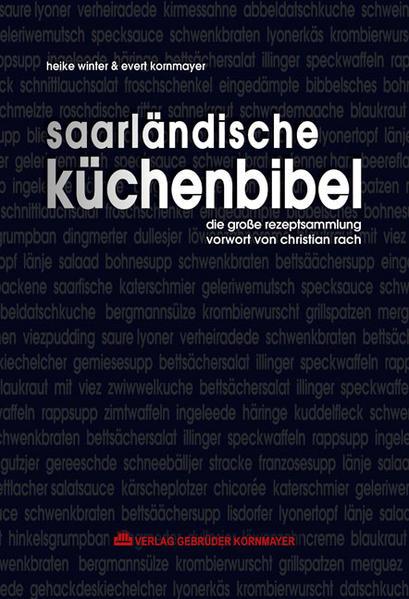 Saarländische Küchenbibel - Coverbild