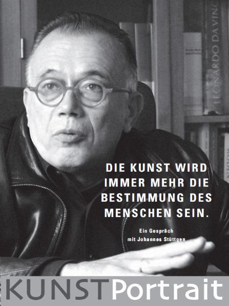 KUNSTPortrait Johannes Stüttgen - Coverbild