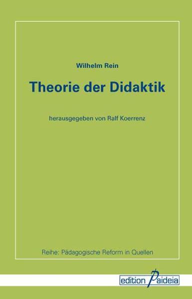 Theorie der Didaktik - Coverbild