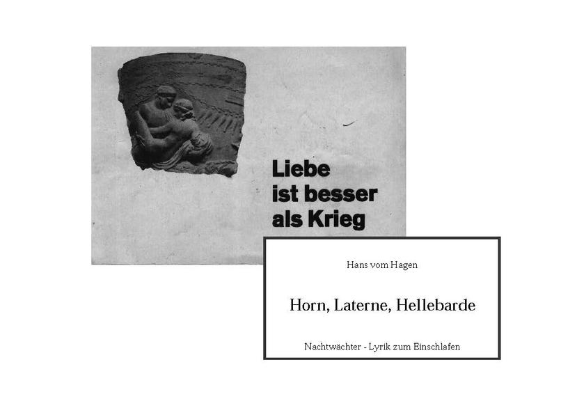 Horn, Laterne, Hellebarde - Coverbild