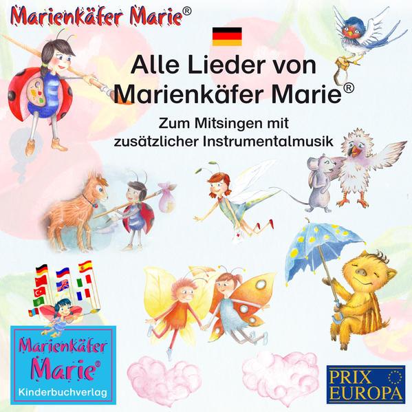 Alle Lieder von Marienkäfer Marie - Coverbild