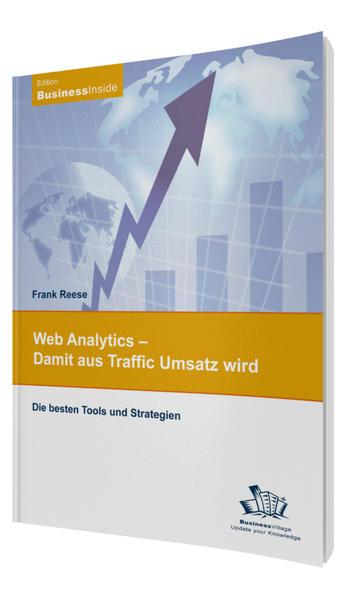 Web Analytics - Damit aus Traffic Umsatz wird - Coverbild