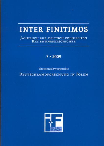 Inter Finitimos 7 (2009) - Coverbild