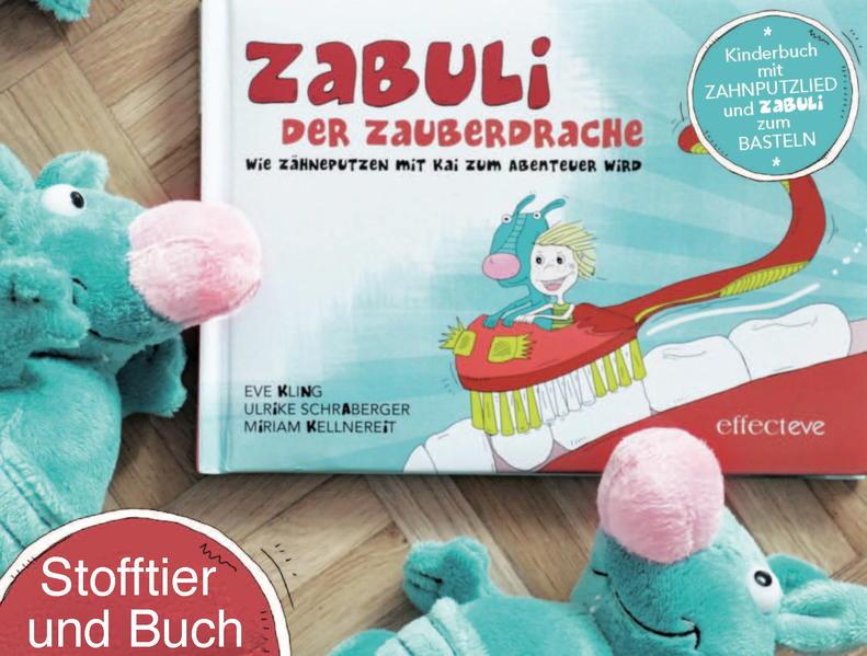 ZABULI - Der Zauberdrache (STOFFTIER + BILDERBUCH) - Coverbild
