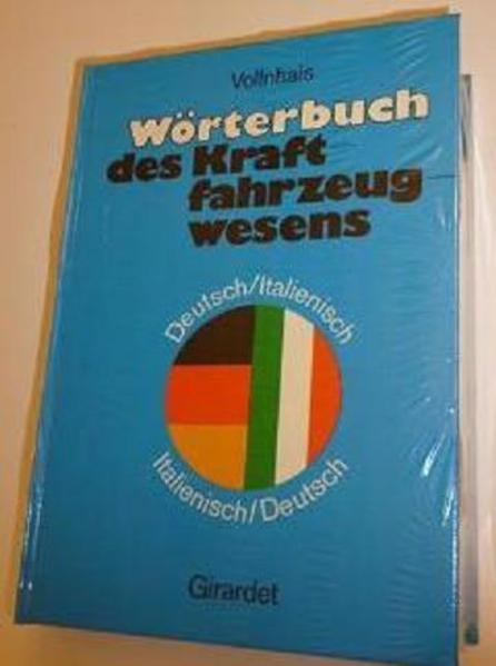 Wörterbuch des Kraftfahrwesens Vollnhals - Coverbild