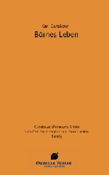 Börne's Leben - Coverbild