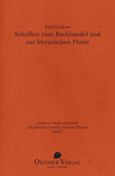 Schriften zum Buchhandel und zur literarischen Praxis - Coverbild