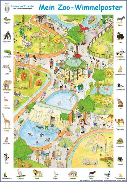 Mein Zoo-Wimmelposter - Coverbild