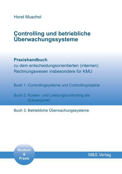 Controlling und betriebliche Überwachungssysteme - Coverbild
