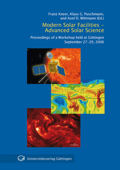 Modern solar facilities - advanced solar science - Coverbild