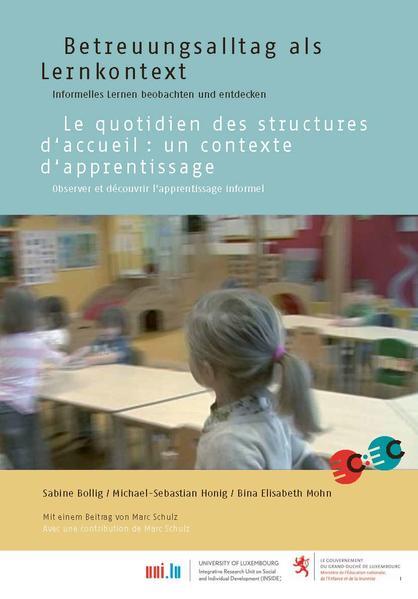 Betreuungsalltag als Lernkontext, deutsch/französisch - Coverbild