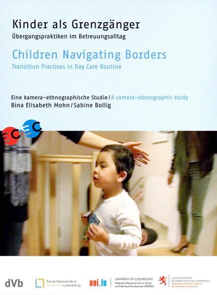 Kinder als Grenzgänger; deutsch/englisch - Coverbild