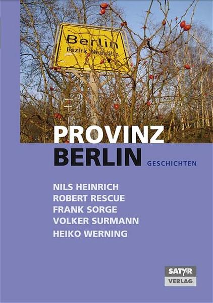Provinz Berlin - Coverbild